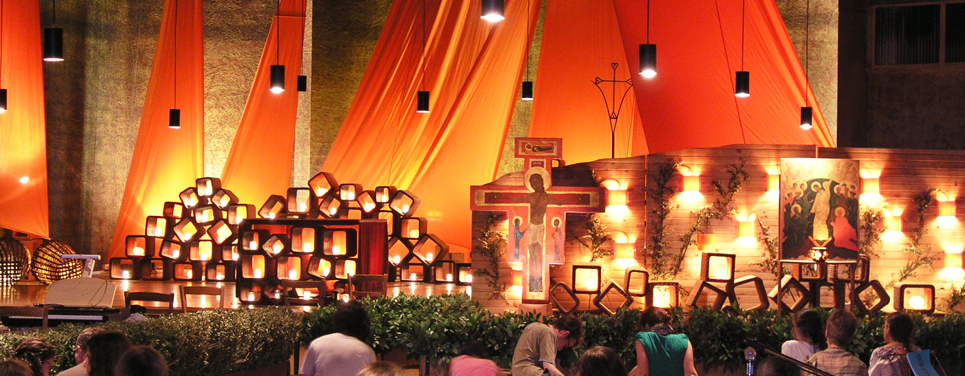 Gebet in Taizé